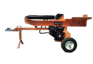 RR270 27 Ton Hydraulic Log Splitter, 6 Second cycle time, Gas